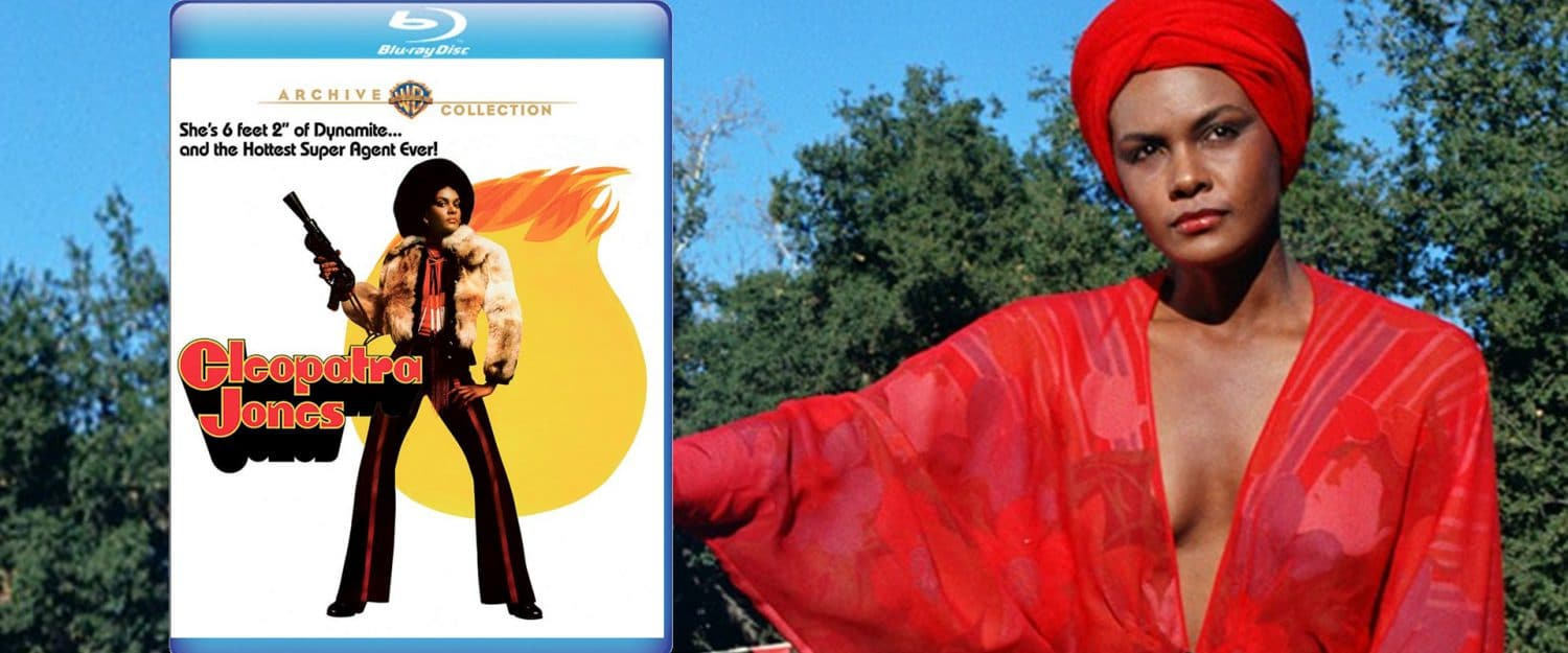 Cleopatra Jones comes to BLu-ray this week from Warner Archive.