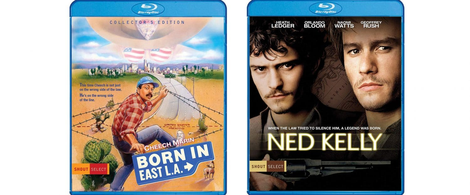 Born in East LA and Ned Kelly both join the Shout! Select line.