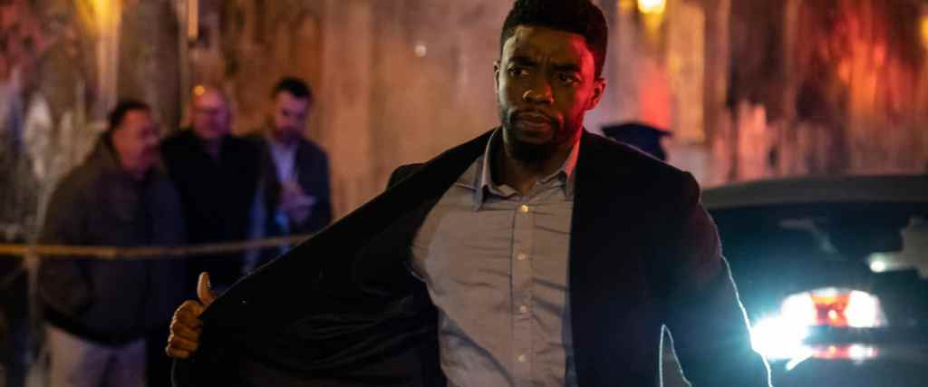 Chadwick Boseman stars in the 21 Bridges trailer.