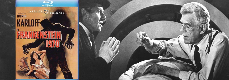 Warner Archive brings Frankenstein 1970 to blu-ray this week.