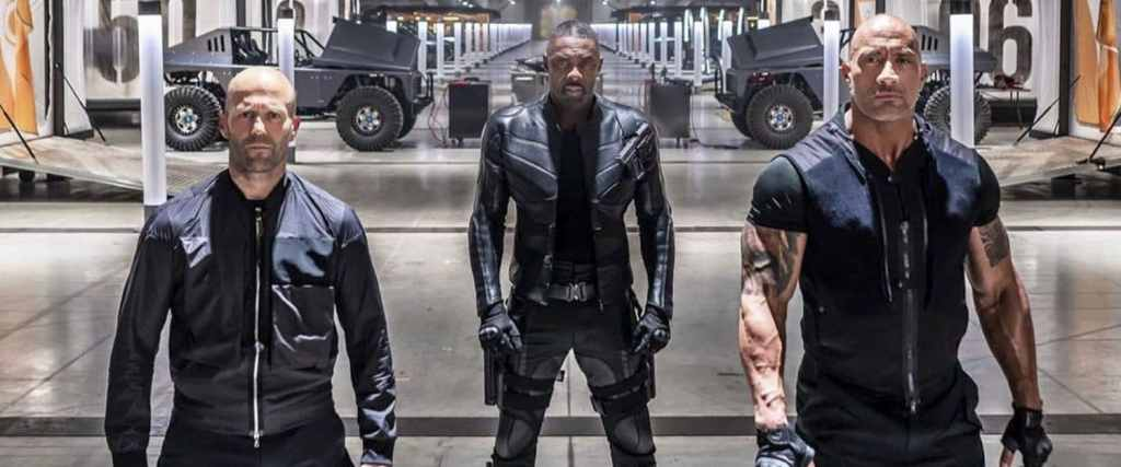 Watch the new Hobbs and Shaw movie trailer for a look at the Fast and Furious spinoff movie starring Idris Elba, Dwayne Johnson and Jason Statham.