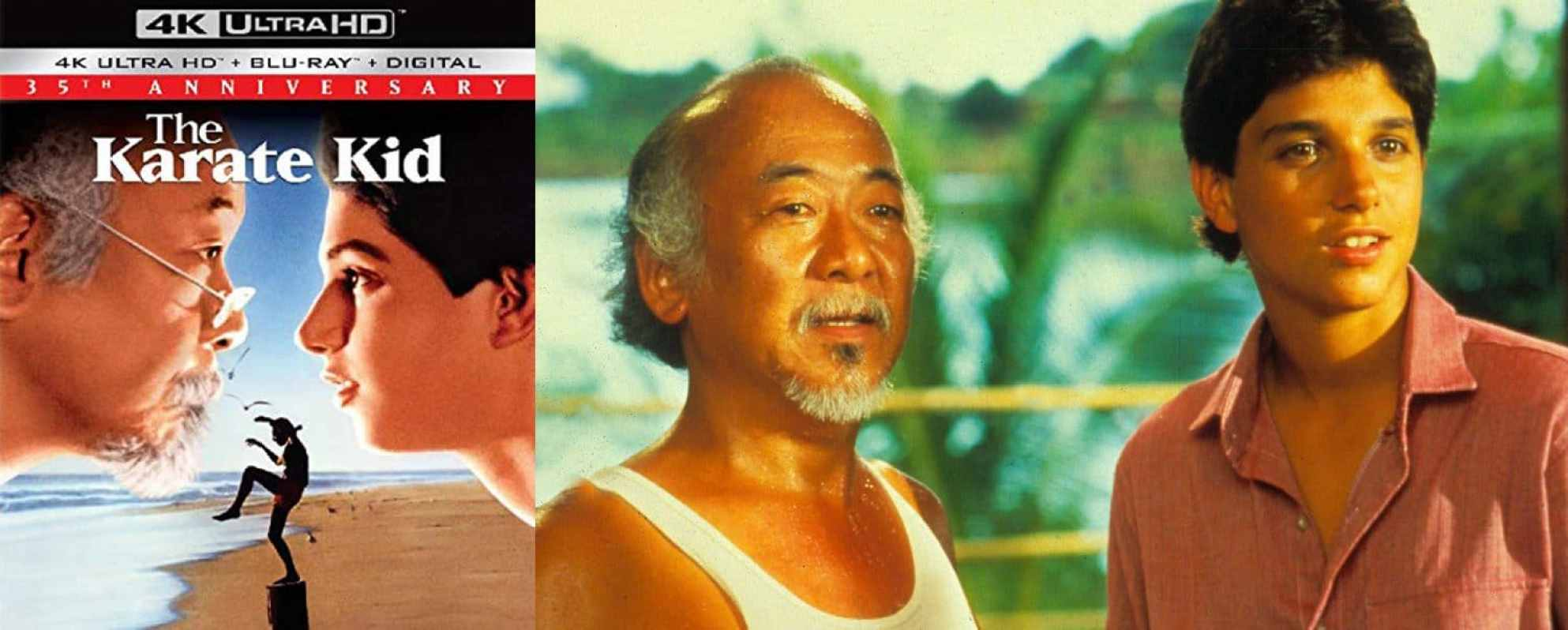 The Karate Kid gets a 4K Ultra HD release this week.