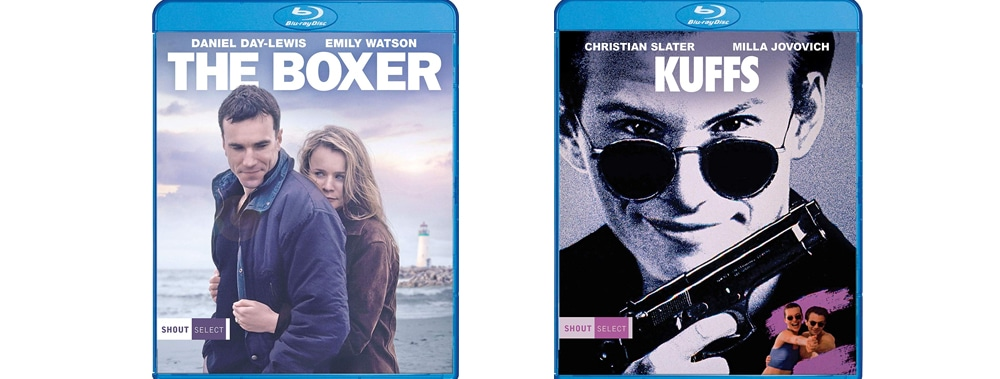 Shout! Select adds both The Boxer and Kuffs to their collection of contemporary classics.