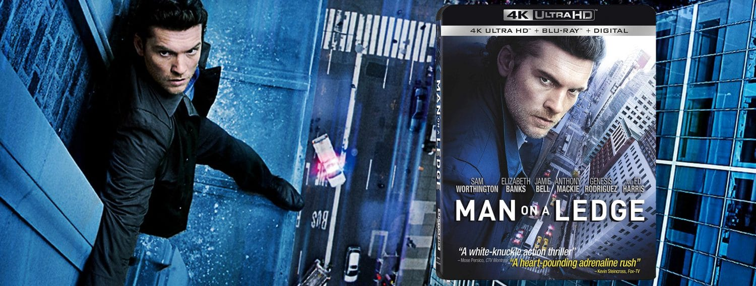 Man on a Ledge comes to 4K Ultra HD this week.