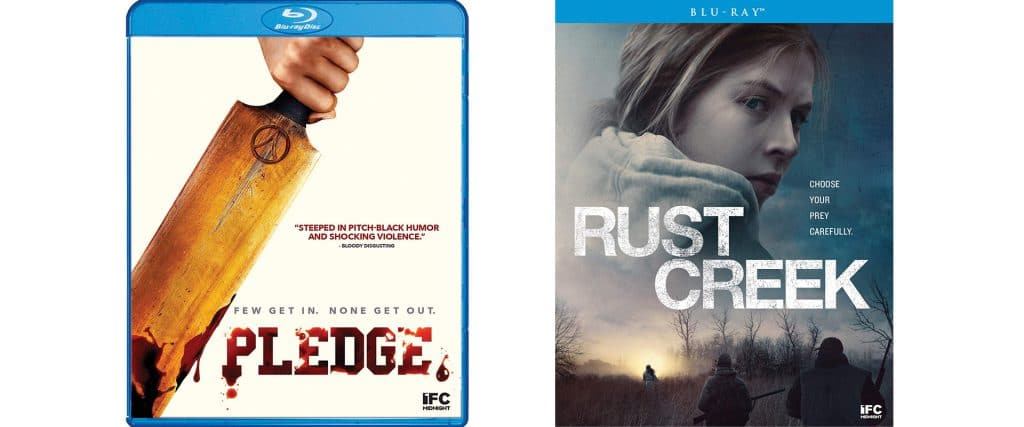 Shout Factory this week brings to Blu-ray both Pledge and Rust Creek.