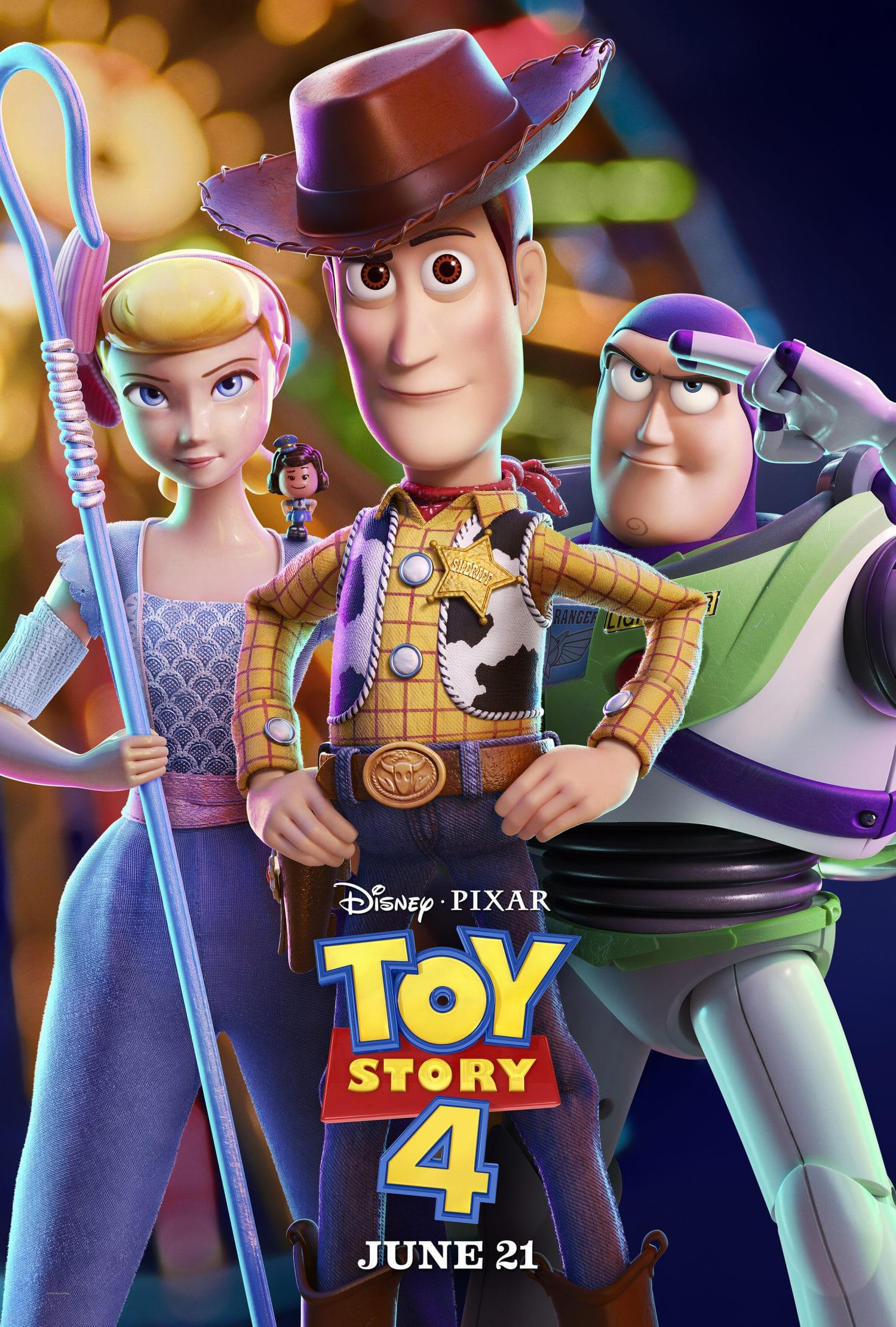Take a look at the new Toy Story 4 movie poster.