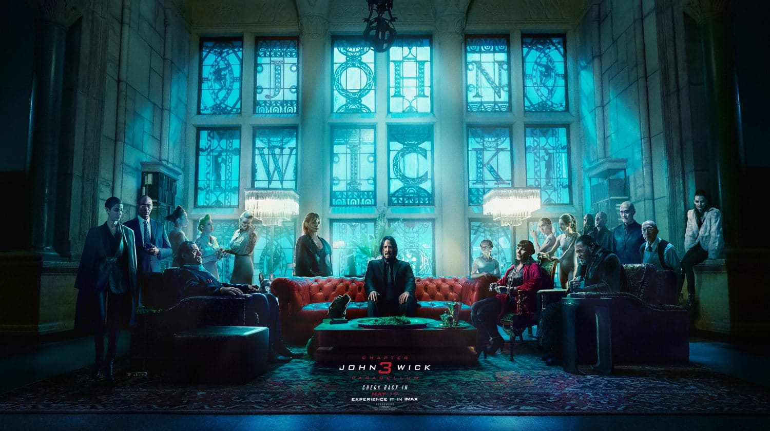 Check out this new Last Supper inspired John Wick poster, setting the stage for the new movie, John Wick Chapter 3: Parabellum.