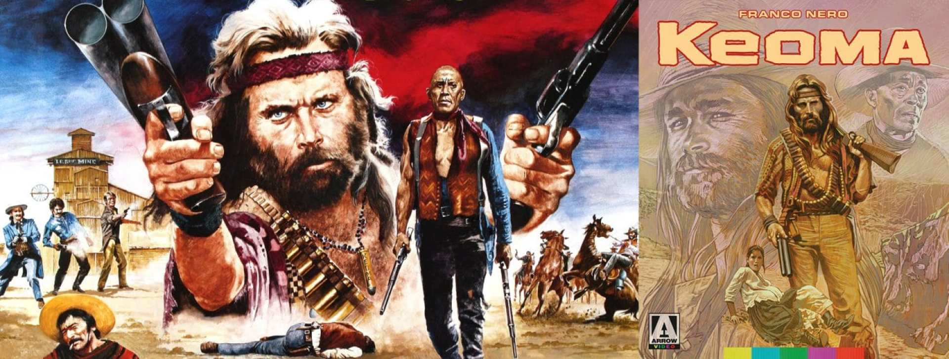 Franco Nero stars in Keoma, available this week from Arrow Video.