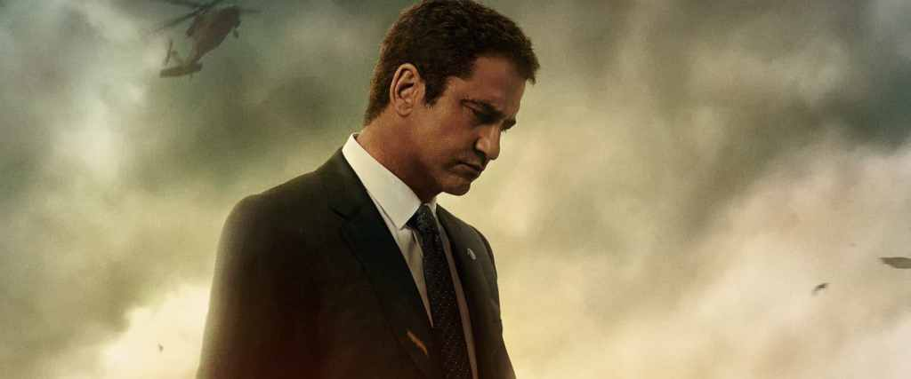 Watch Gerard Butler in the Angel Has Fallen movie trailer.