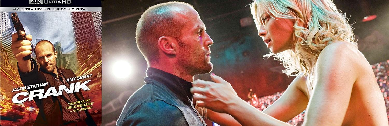 Jason Statham stars in Crank, hitting 4K Ultra HD this week.