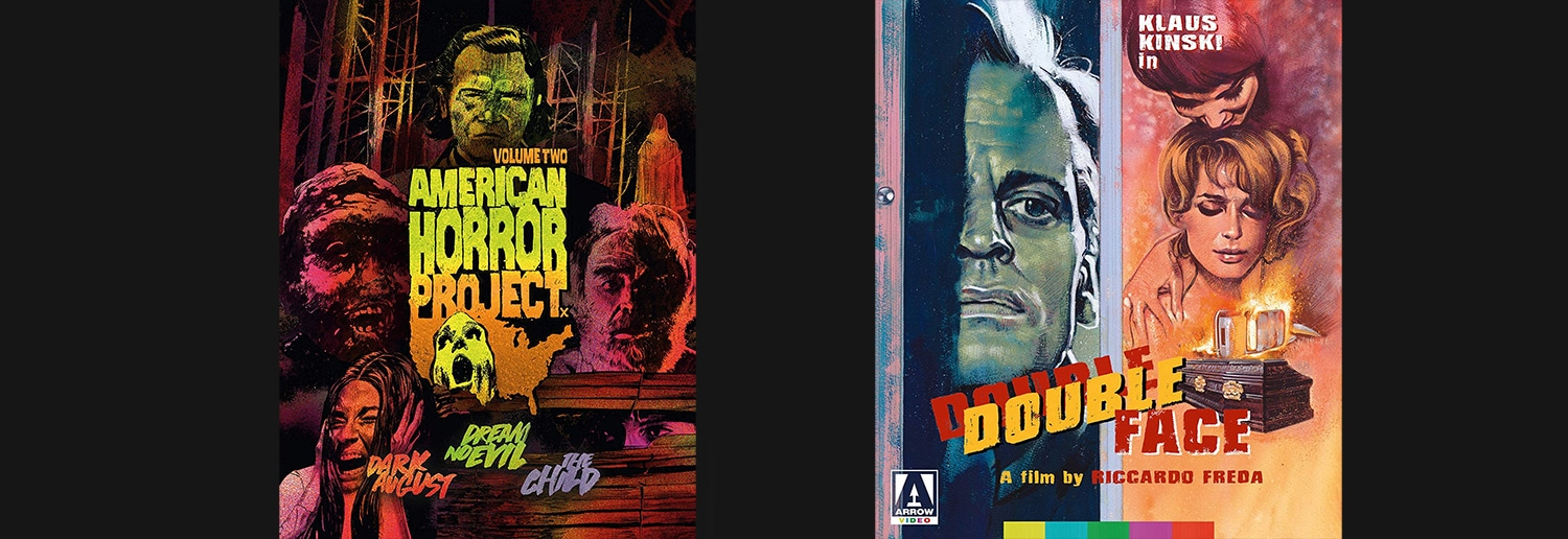 This week, Arrow Video is releasing both Double Face and a second volume of the American Horror Project.