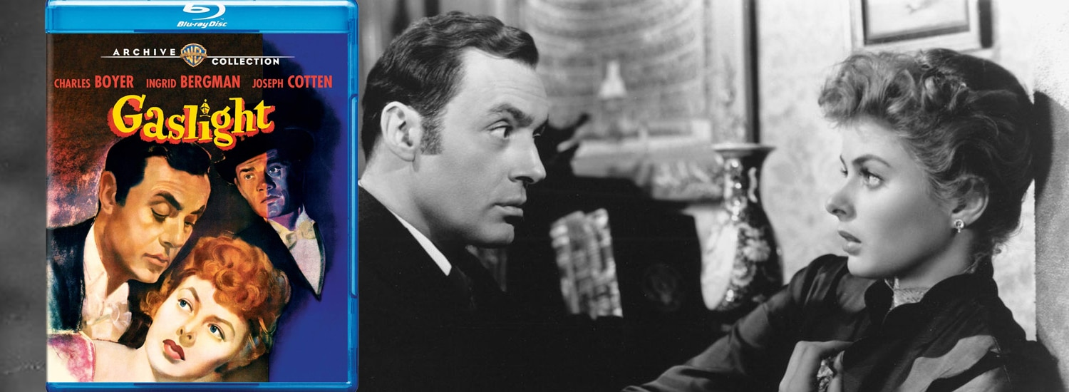 From Warner Archive comes Gaslight on Blu-ray.