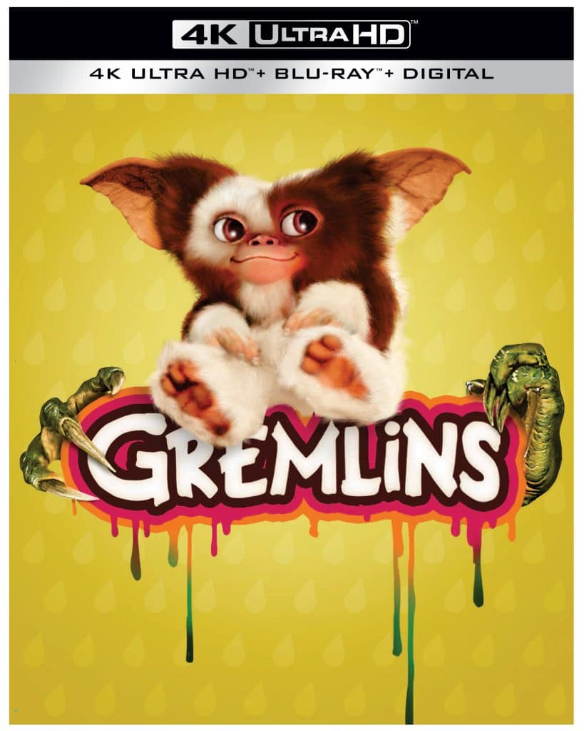 Take a look at the 35th anniversary Gremlins 4K Ultra HD steelbook.