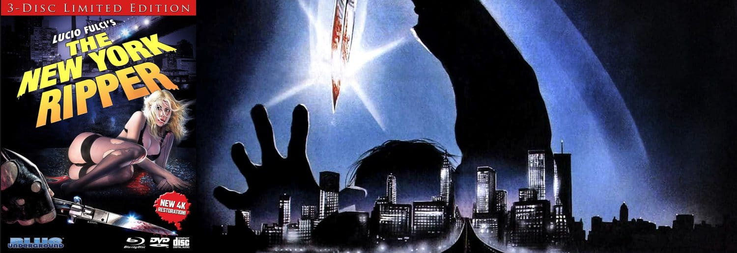 Blue Underground is bringing to Blu-ray Lucio Fulci's The New York Ripper.