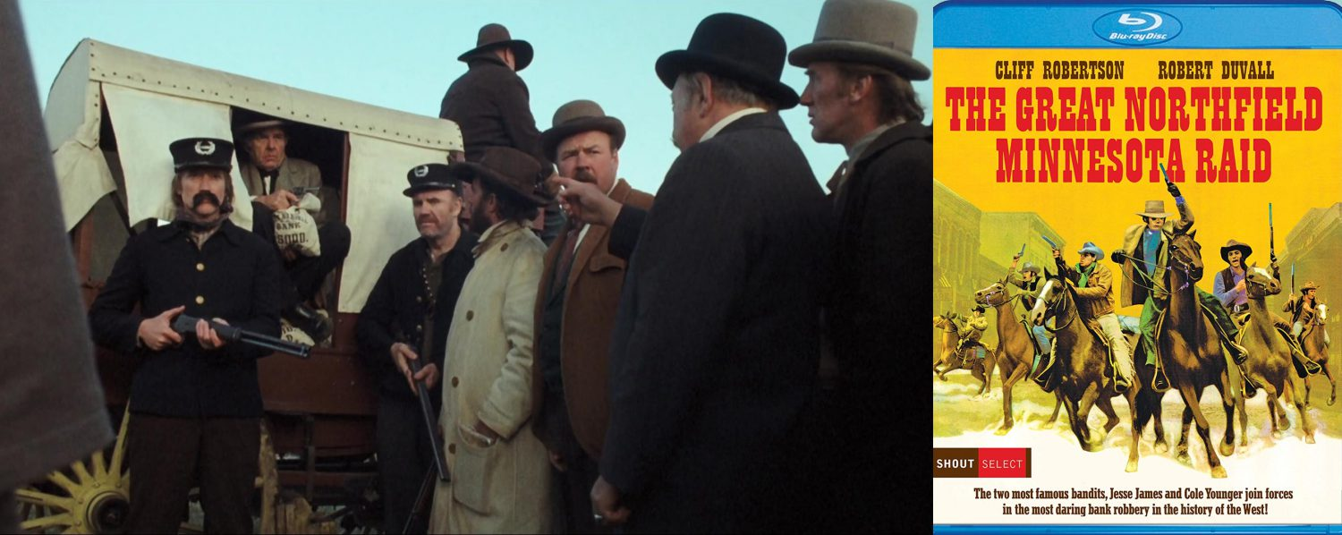 From Shout! Select comes the Great Northfield Minnesota Raid, on Blu-ray for the first time.