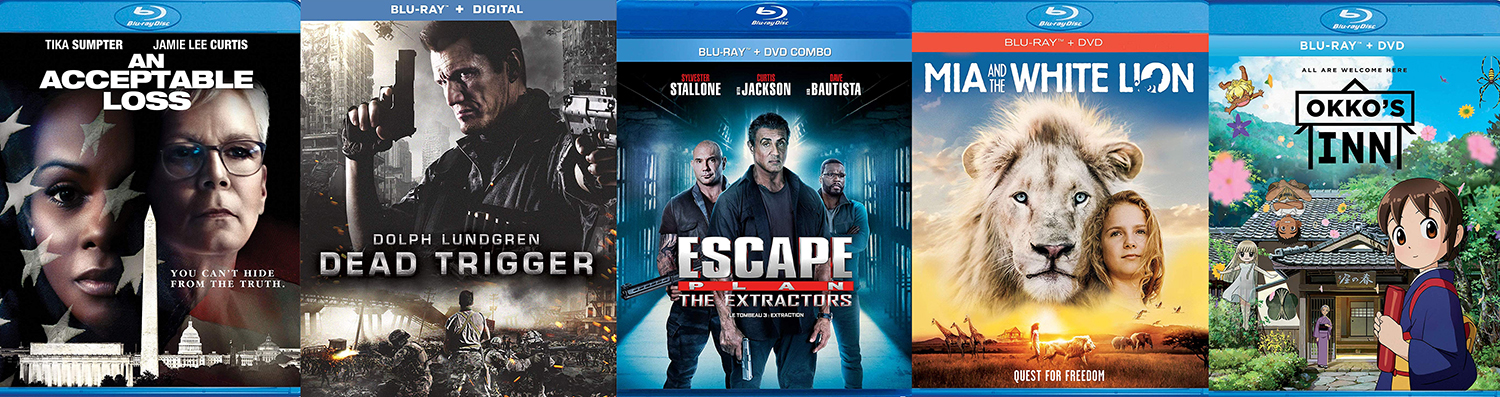 Mia and the White Lion, The Escape Plan 3 and more hit DVD and Blu-ray this week.