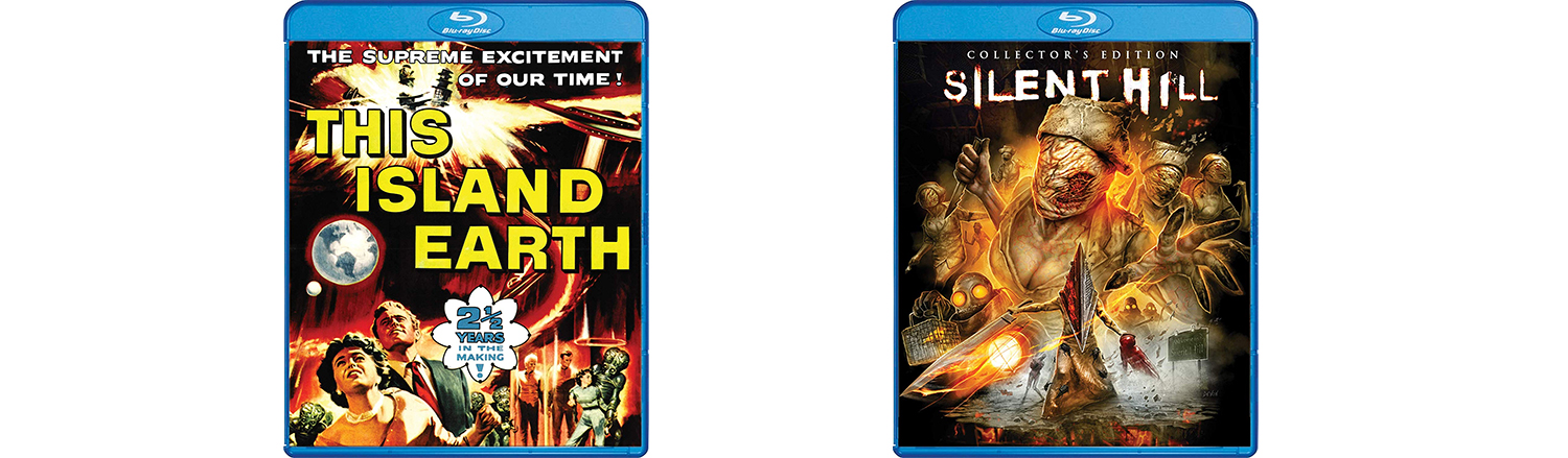 Silent Hill gets a collector's Edition and This Island Earth comes to the Scream Factory collection.