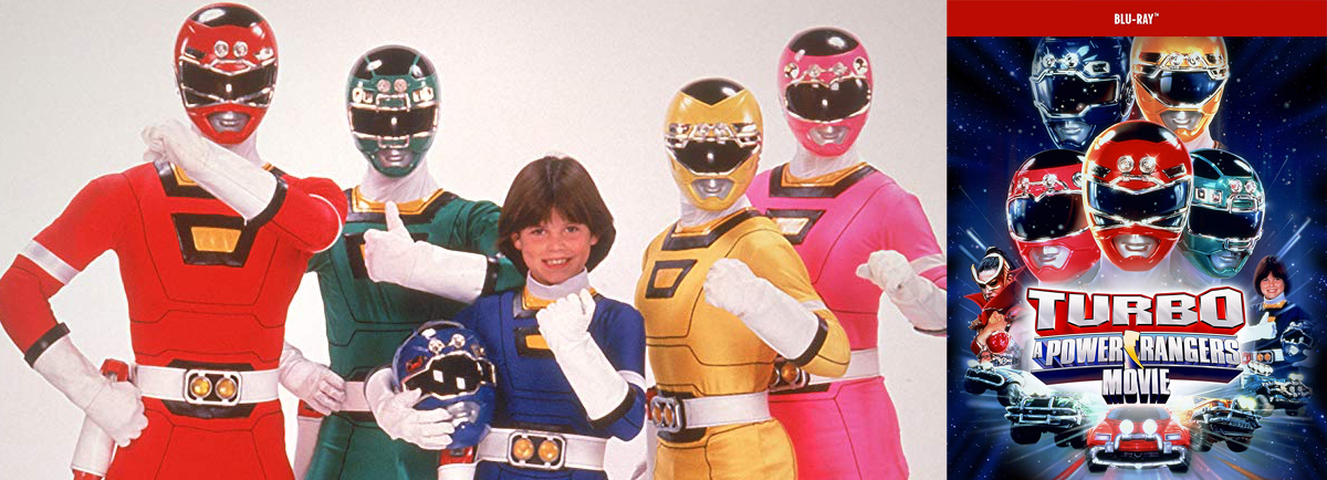 Get ready to morph on blu-ray with Turbo: A Power Rangers Movie.
