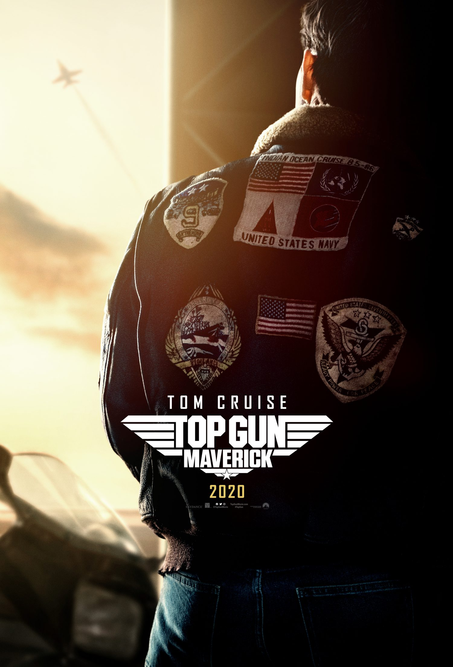 Tom Cruise is back as Maverick in Top Gun: Maverick.