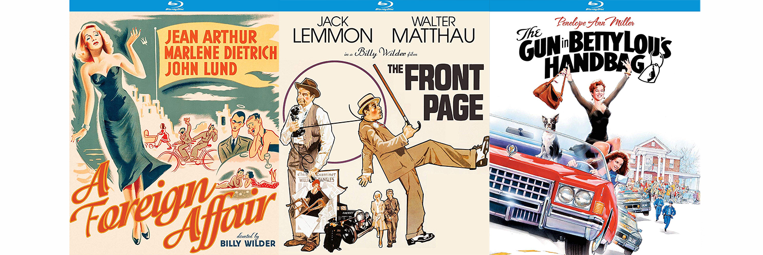 New Billy Wilder titles arrive this week from Kino Lorber STudios classics.