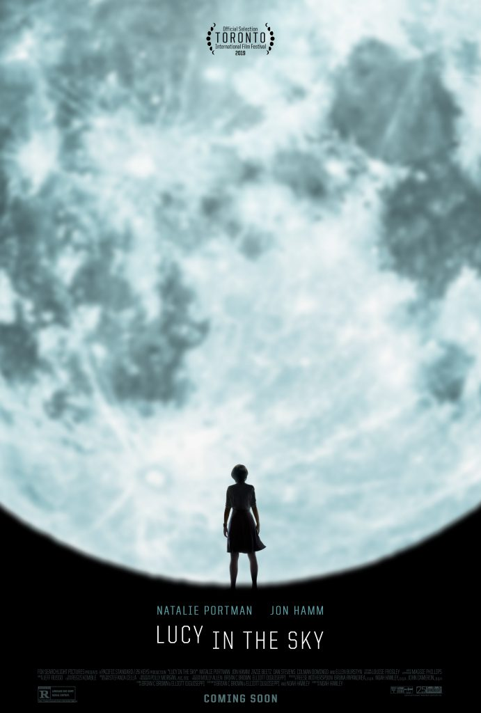 Watch the new Lucy in the Sky movie trailer and check out the first Lucy in the Sky movie poster.