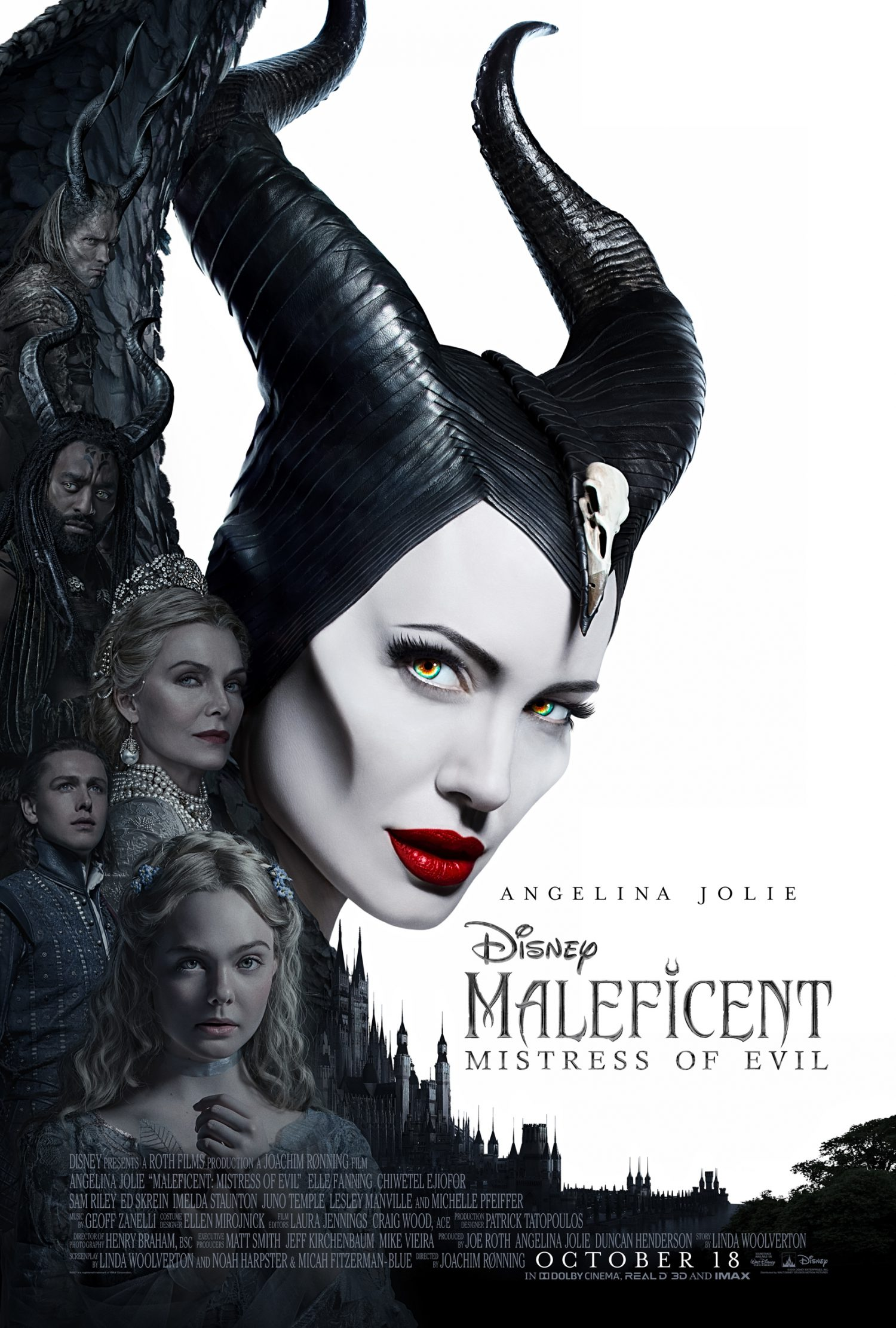 Take a look at the new Maleficent 2: Mistress of Evil movie poster.