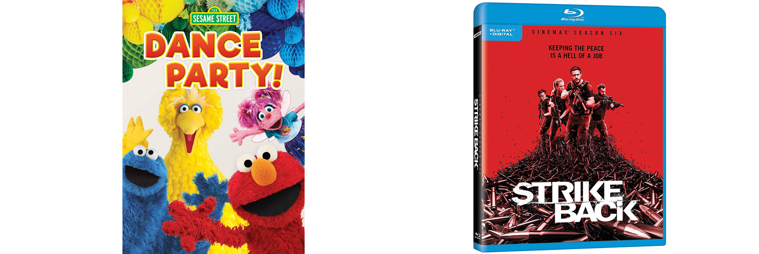 Shout Factory delivers a Sesame Street Dance Party as Strike Back offers up it's final season.