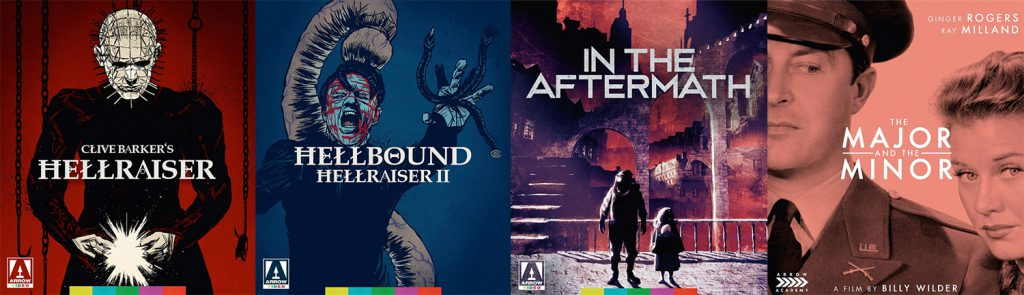 Here's what Arrow Video is bringing to blu-ray and DVD this week.