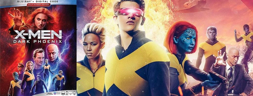 The X-Men movie sequel Dark Phoenix hits DVD, Blu-ray and 4K Ultra HD this week.