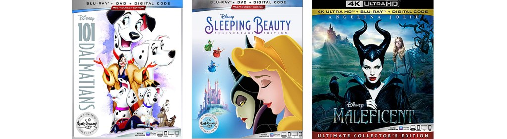 There are several Disney movies hitting DVD, Blu-ray and 4K Ultra HD this week.