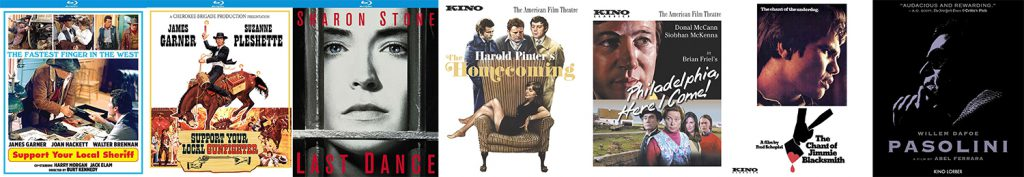 Lots of new titles hit Blu-ray this week from Kino Lorber and the Studio Classics line.
