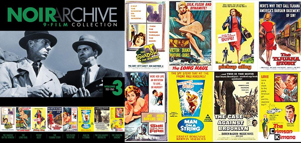 Check out the the third blu-ray set release from the film Noir archive.