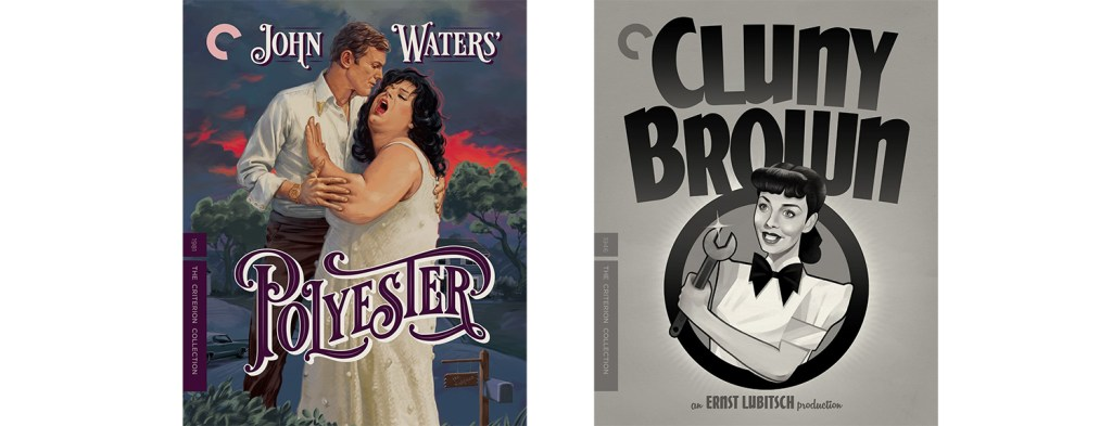 Criterion is releasing both Polyestery and Cluny Brown this week.