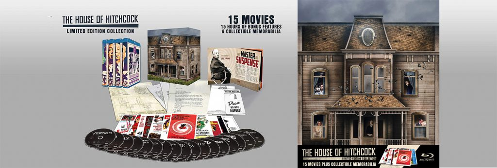 The House of Hitchcock includes some of the master of suspense's greatest films.