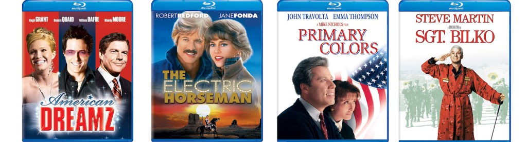 Universal catalogue titles coming to Blu-ray include American Dreamz, The Electric Horseman, Primary Colors and Sgt. Bilko.