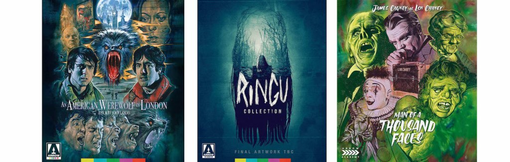 The Ringu Collection, An American Werewolf in London and Man of a Thousand Faces all come to Blu-ray from Arrow Video this week.