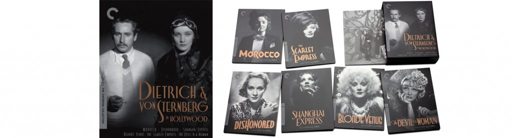 The Criterion Collection is upgrading to Blu-ray the Marlene Dietrich and Joseph Von Sternberg collection.