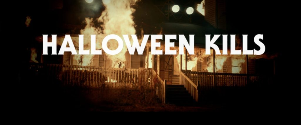 Here's a special message from the Halloween Kills movie set.
