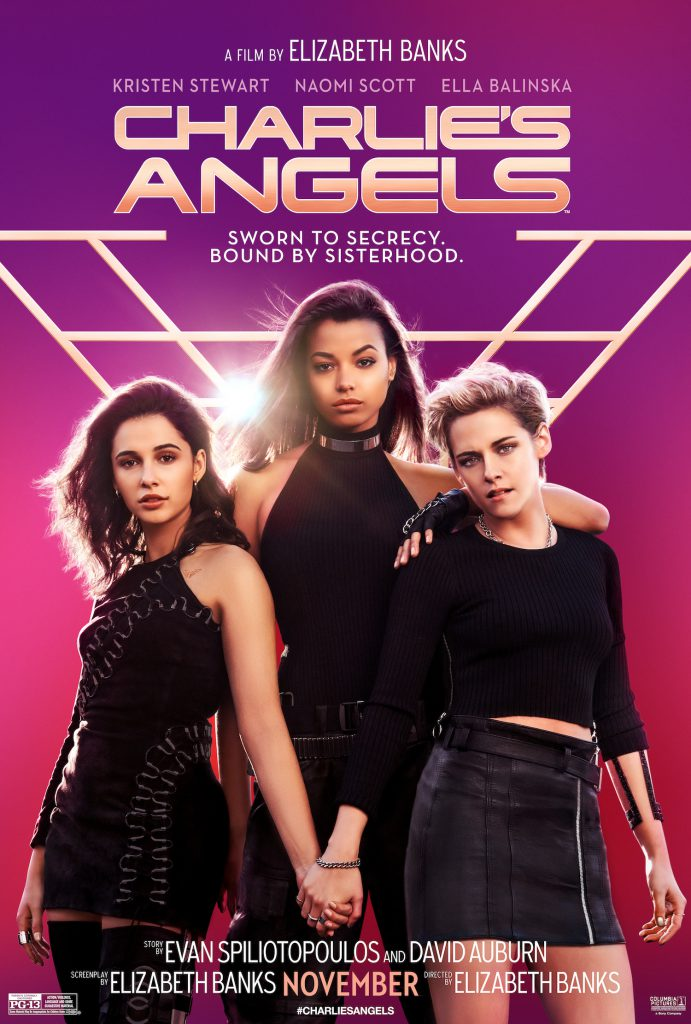 Watch the new Charlie's Angels trailer for a look at the upcoming movie starring Kristen Stewart, Naomi Scott and Ella Balinska.