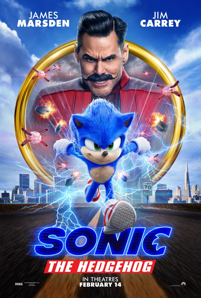 Watch the new Sonic the Hedgehog movie trailer for an updated look at the blue speedster. Plus, check out the new Sonic movie poster.