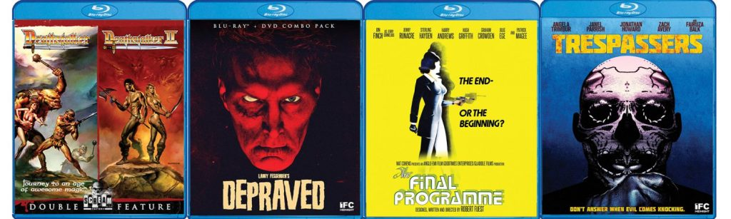 Take a look at the new Blu-ray titles hitting this week from Shout! Factory's Scream Factory label.