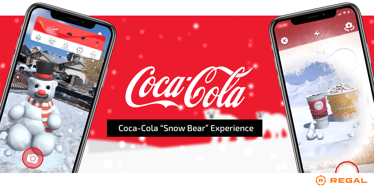 Coca-Cola AR Game Regal Cinemas