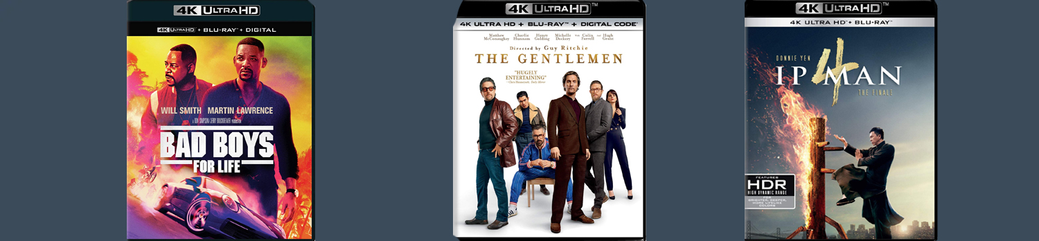 New releases this week include The Gentlemen, Bad Boys For Life and IP Man 4.