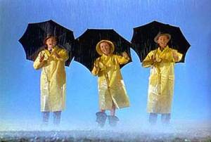 You gotta admire a picture so committed to its title it starts Singin' In the Rain by singing... in the rain.