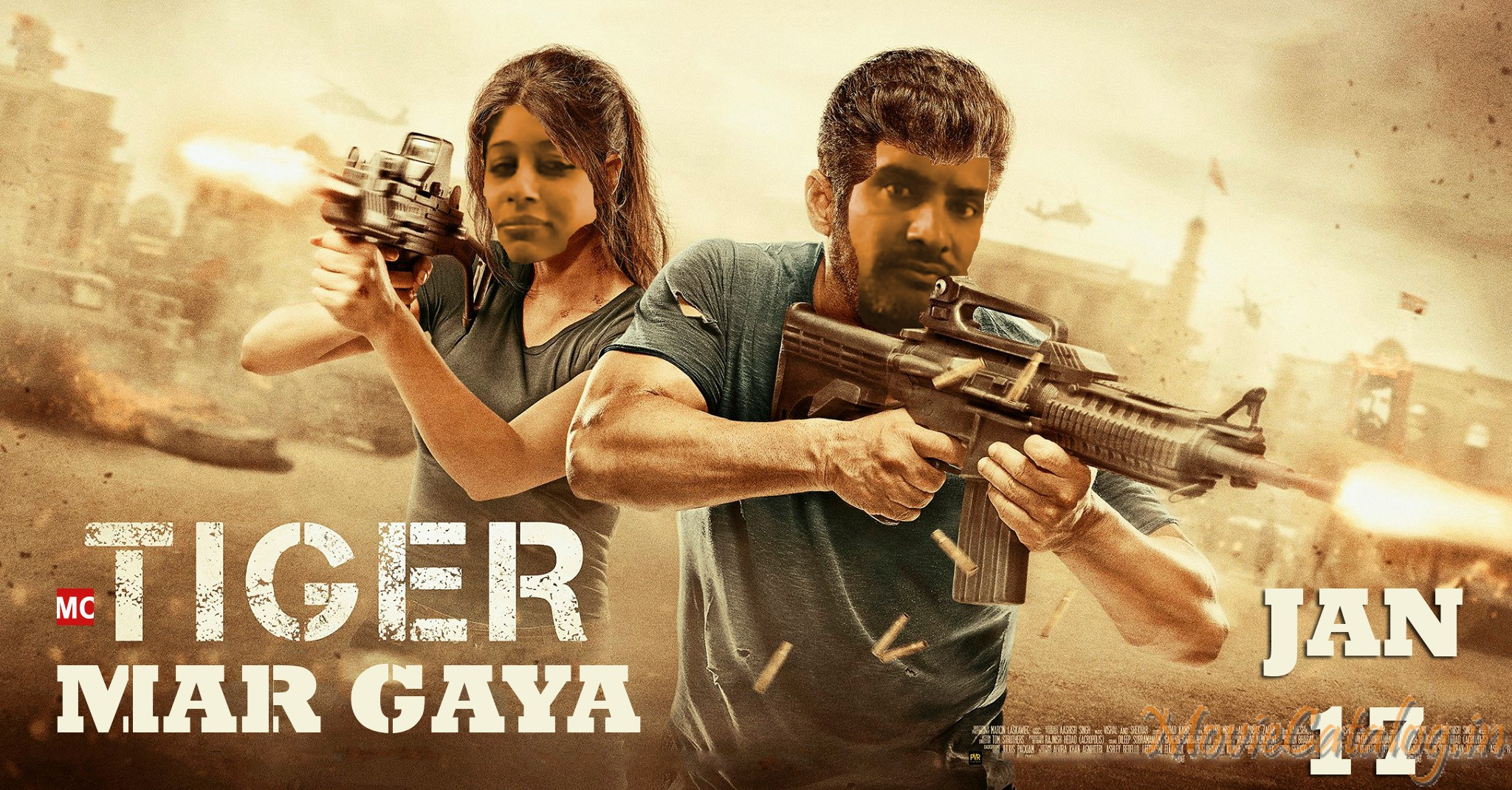 Tiger Mar Gaya Poster - Short film