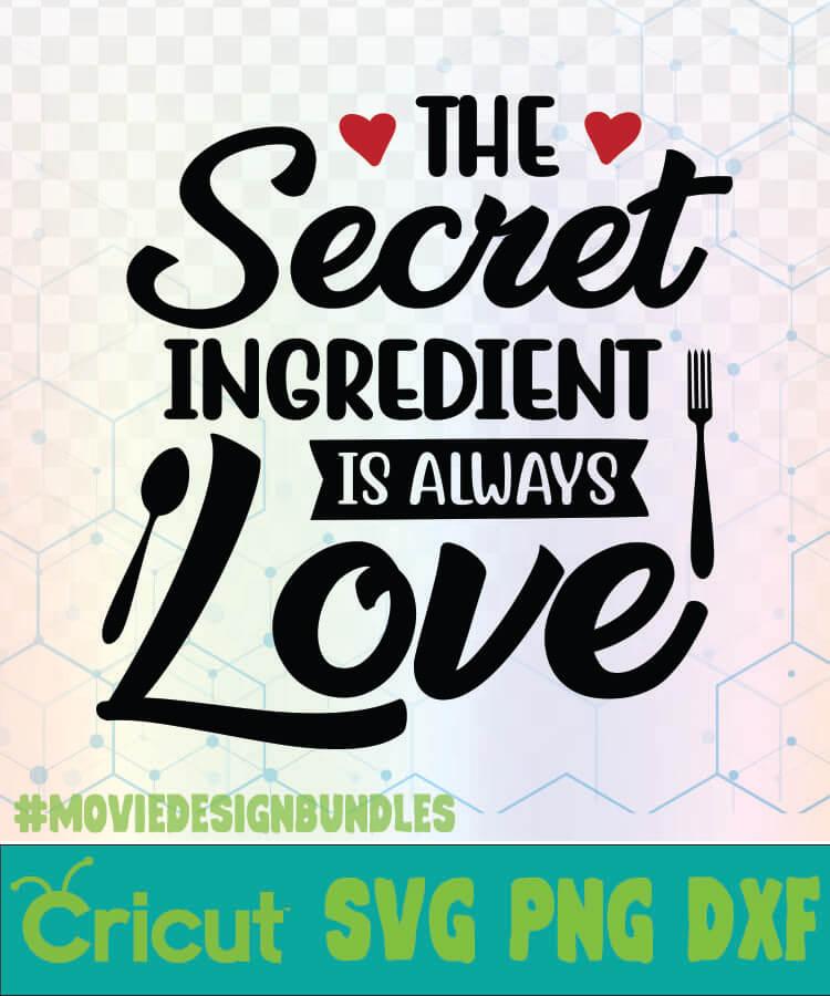 Download THE SECRET INGREDIENT IS ALWAYS LOVE KITCHEN QUOTE KITCHEN ...