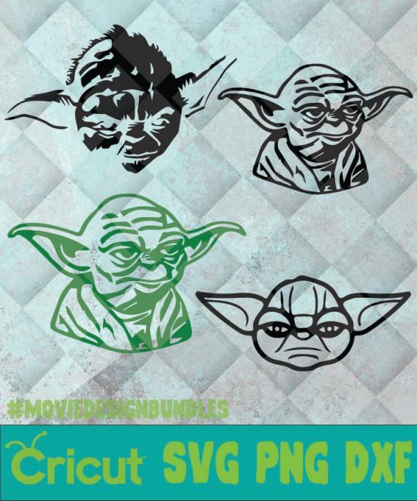 Baby Yoda Heart Svg