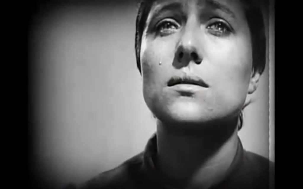 Dreyer never takes a stand on whether Joan is lost, insane, or actually a prophet.