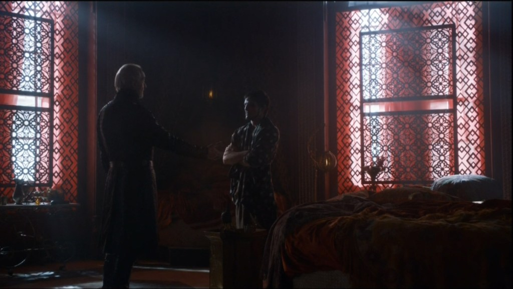 http://usatthebiglead.files.wordpress.com/2014/04/tywin-and-prince-oberyn.jpg?w=1200