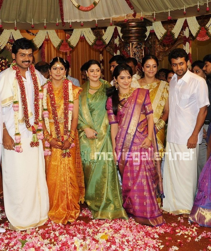 Karthik Jothika Wedding